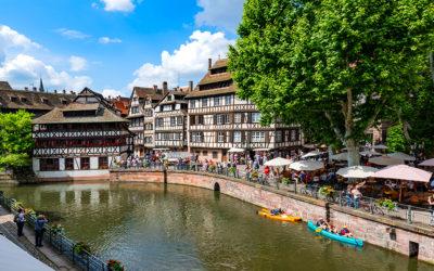 Strasbourg à hauteur d'oiseaux…